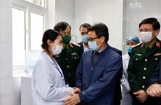 组图:政府副总理武德儋走访新冠疫苗试验志愿者