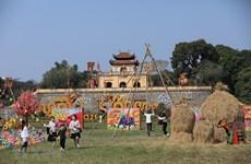 组图:来升龙皇城感受昔日越南春节氛围