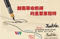 图表新闻:越南革命新闻的重要里程碑