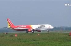 越捷开通芹苴飞往台湾和首尔两条新航线