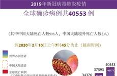 图表新闻:全球新冠病毒肺炎确诊病例共40553 例
