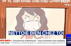 《嫉妒-预防新冠版》登上法国BFMTV电视台