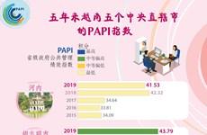 图表新闻:5年来越南5个中央直辖市的PIPA指数