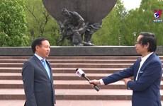 俄罗斯人民对胡志明主席怀有深深的感情
