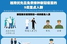 图表新闻:越南优先且免费接种新冠疫苗的9类重点人群