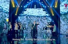 旅外越南人创作爱国歌曲   抒发爱国情怀
