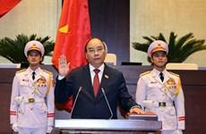 阮春福同志当选越南国家主席