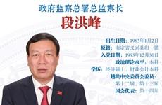 图表新闻:段洪峰被任命为政府监察总署总监察长