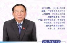 图表新闻:阮文雄被任命为越南文化体育与旅游部长