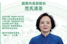 图表新闻:范氏清茶被任命为越南内务部部长