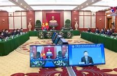 阮富仲出席中国共产党与世界政党领导人峰会