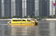 胡志明市水上巴士路线恢复运营