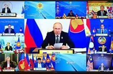 越南政府总理范明政出席东盟-俄罗斯领导人会议