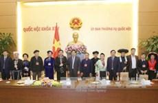 越南国会常务副主席丛氏放会见高平省少数民族先进模范代表团