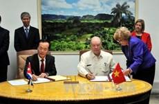 越南-古巴政府间联合委员会第34次会议圆满结束