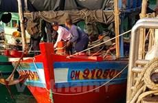 泰国扣押9名越南渔民