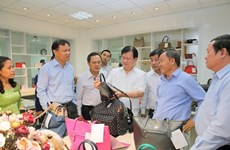 郑廷勇副总理:政府继续对皮革、鞋类和箱包产业的相关政策进行调整