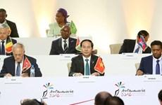 越南国家主席陈大光: 越南愿为加强法语国家国际组织与东盟乃至亚太的合作搭建桥梁