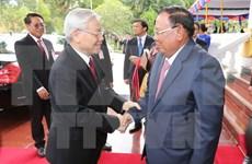 老挝媒体:阮富仲总书记此次访老有助于深化越老特殊合作关系