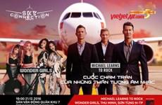 越捷航空公司响应Sky Connection国际音乐节