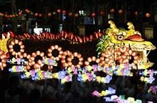 韩国巨型龙灯节即将亮相河内