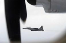 新加坡空军举行军事演习