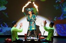 服装在越南跳神礼仪中的作用