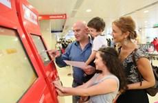 响应12·2网上购物日:越捷航空公司出售50万张起价0越盾的机票