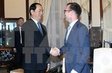 越南国家主席陈大光会见新西兰驻越大使