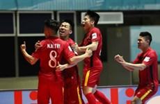 2016中国足协室内五人制足球国际邀请赛:越南队战平中国队