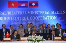 越老柬三国加强禁毒合作
