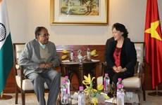 印度共产党总书记:印度十分重视发展与越南的关系