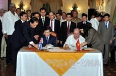 越南最高人民检察院代表团对古巴进行正式工作访问