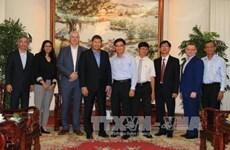 美国柏克德集团赴越了解龙城国际机场项目