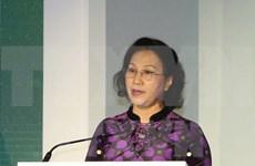 越南国会主席阮氏金银会见旅居阿联酋越南人社群