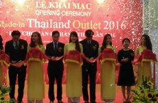 2016年泰国商品零售展在河内开展
