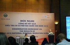 2015年越南流动人口调查结果出炉
