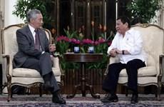 新加坡和菲律宾领导就东海和反恐问题进行讨论