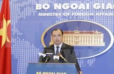 越南外交部发言人黎海平:越方反对一切侵犯越南主权的行为