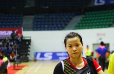 2016年尼泊尔羽毛球公开赛:阮垂玲夺魁