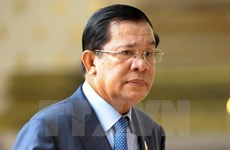 柬埔寨首相洪森访问胡志明市