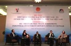 EVFTA:越南吸引对工业投资的良机