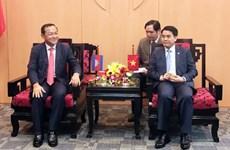 加强越南河内与柬埔寨金边间的关系