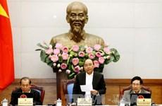 越南政府总理阮春福主持召开政府12月例行会议