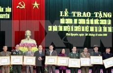 越南太原省99名援老志愿军干部和专家荣获老挝国家勋章