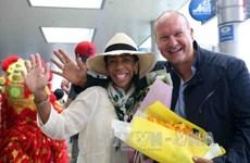 岘港市迎接2017年首批国际游客