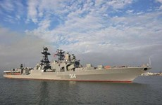 俄罗斯反潜驱逐舰访问菲律宾