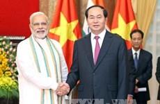 """越印建交45周年:越南是印度""""动向行动""""政策中的重要支柱之一"""