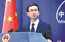 中国外交部发言人耿爽:中国将东盟作为周边外交的优先方向