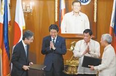 日本宣布将向菲律宾提供87亿美元资金援助